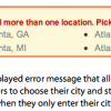 Store Locator Forms Simplified to One Text Field