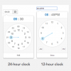 Why a Clock Widget Is Easier for Picking Time