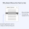 Why Users Abandon Forms with Select Menus