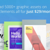 Envato Elements: A Curated Library of Web Design Assets