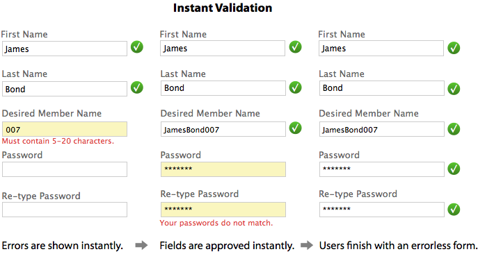 Why Long Forms Need Instant Field Validation