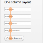 Aligning Submit Buttons on Column Layouts