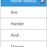 How to Simplify a Large Navigation Menu