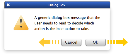 Why Ok Buttons in Dialog Boxes Work Best on the Right
