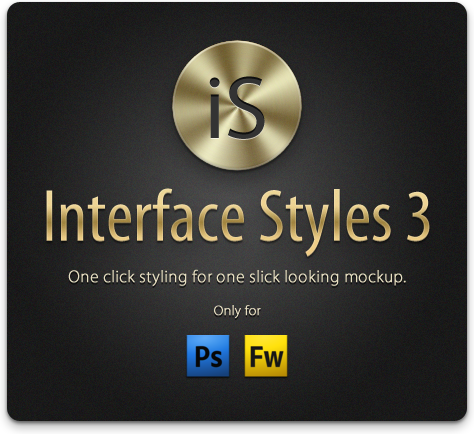 Interface Styles 3: Make Mockups Like Never Before