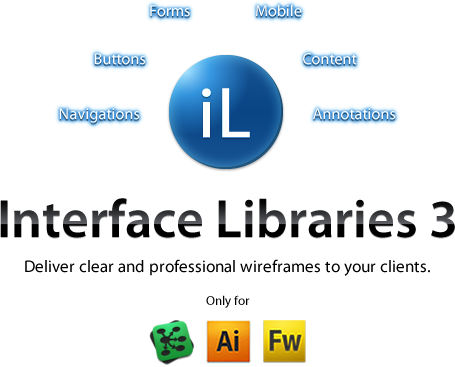 Interface Libraries 3: Wireframe Like a Professional
