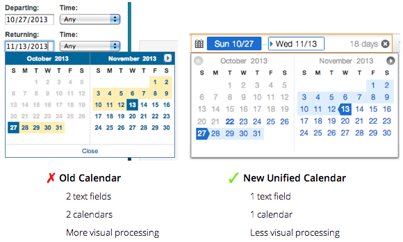 How Travel Websites Can Make Their Calendars Faster