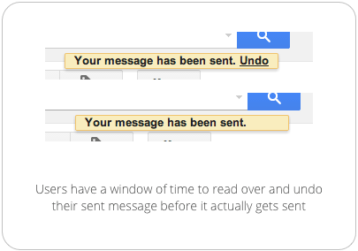 Undo Timers: Comfort Users When Sending Messages