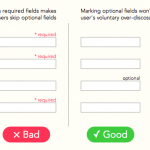 Why Users Fill Out Less If You Mark Required Fields