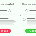 Where to Place Icons Next to Button Labels
