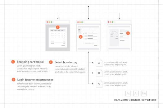 FireTuts: Web and Mobile Layout Tiles for Sitemaps