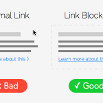 How Link Blocking Can Increase Your Click-through Rate