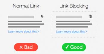 link-blocking