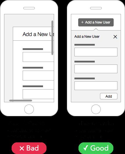 mobile-modal