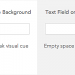 Stronger Visual Cues for Text Fields