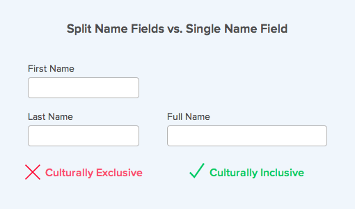 Why Your Form Only Needs One Name Field