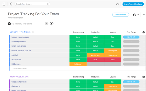 Monday Com A Team Management Tool For Design Projects